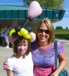 Briana and Heather at 2011 Walk 'n' Roll