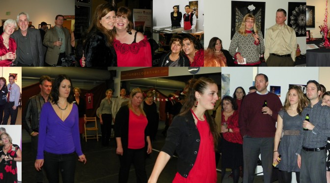 Collage of photos from Hearts on Fire 2012