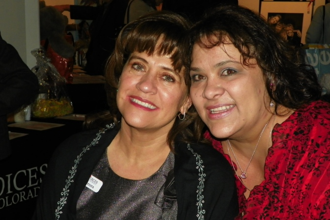 Susana Herrera and Suzette Elledge, two of Family Voices Colorado's Medical Home certification staff