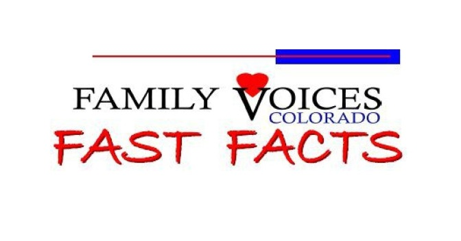 Fast Fact Tuesday! Medicaid, SSI, and Colorado Waivers!